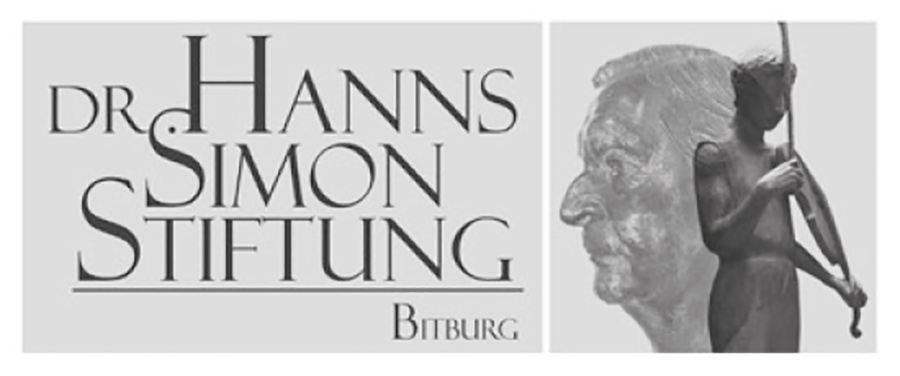 Sponsor: Dr.-Hanns-Simon-Stiftung   BitburgART - Eine Stadt voll Kunst - Eine Veranstaltung der Kulturgemeinschaft Bitburg in Kooperation mit Stefan BOHL
