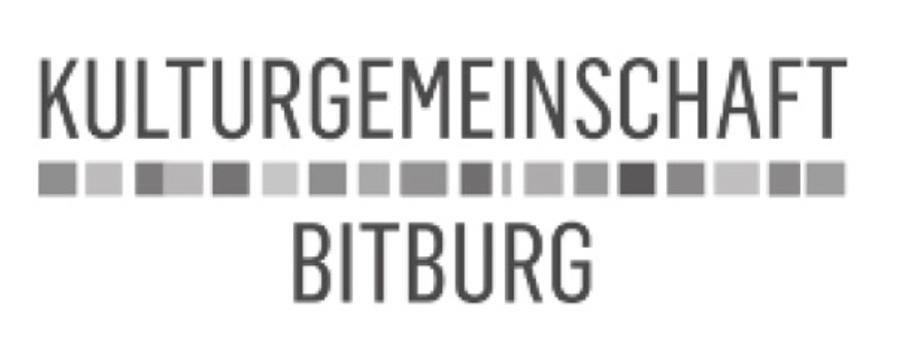 Sponsor: Kulturgemeinschaft Bitburg   BitburgART - Eine Stadt voll Kunst - Eine Veranstaltung der Kulturgemeinschaft Bitburg in Kooperation mit Stefan BOHL